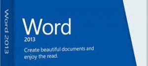 Les nouveautés de Word 2013