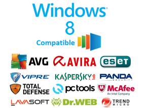 Trouver un antivirus pour Windows 8